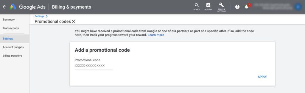 """""""Добавяне на промоционален код"""