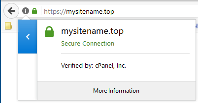 cPanel AutoSSL SSL certificate