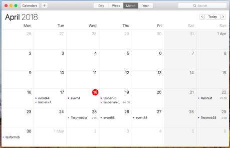 събитие в календара