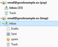 Преместване на писма от стар POP мейл сървър към нов IMAP сървър.