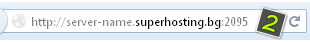 Open one of the following URLs in your address bar