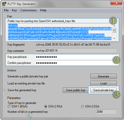 ssh-keys-generate-putty